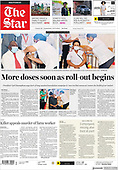February 18, 2021 (AFRICA): Front-page: Today's Newspapers In Africa