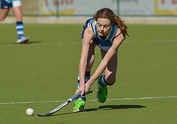 Candice Ewing of Springfield during day two of the FNB Private Wealth Super 12 Hockey Tournament held at Oranje Meisieskool in Bloemfontein, South Africa on the 7th August 2016, <br /> <br /> Photo by:   Frikkie Kapp / Real Time Images