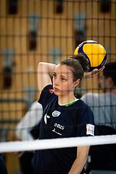 WINKLER Lina of Slovenian national team before volleyball match between Slovenia and Portugal in CEV Volleyball European Silver League 2021, on 12 of June, 2021 in Dvorana Ljudski Vrt, Maribor, Slovenia. Photo by Blaž Weindorfer / Sportida