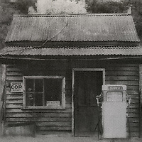 Old Service Station, Woods Point<br />