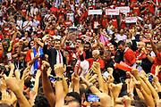 DESCRIZIONE : Campionato 2013/14 Finale GARA 7 Olimpia EA7 Emporio Armani Milano - Montepaschi Mens Sana Siena Scudetto<br /> GIOCATORE : Festa Esultanza Tifosi Premiazione<br /> CATEGORIA : Pubblico Festa Esultanza Panoramica Award Premio Coppa<br /> SQUADRA : Olimpia EA7 Emporio Armani Milano<br /> EVENTO : LegaBasket Serie A Beko Playoff 2013/2014<br /> GARA : Olimpia EA7 Emporio Armani Milano - Montepaschi Mens Sana Siena<br /> DATA : 27/06/2014<br /> SPORT : Pallacanestro <br /> AUTORE : Agenzia Ciamillo-Castoria / Luigi Canu<br /> Galleria : LegaBasket Serie A Beko Playoff 2013/2014<br /> Fotonotizia : DESCRIZIONE : Campionato 2013/14 Finale GARA 7 Olimpia EA7 Emporio Armani Milano - Montepaschi Mens Sana Siena<br /> Predefinita :