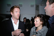 DAMIAN LEWIS, HELEN MCCRORY , Tom Cairns directs Almeida Fundraising Benefit sponsored by Coutts and Co. -A Chain Play by Samuel Adamson, Moira Buffini, David Hare, Charlotte Jones, Frank McGuinness and Roy Williams. Almeida theatre. London. 23 March 2007.  -DO NOT ARCHIVE-© Copyright Photograph by Dafydd Jones. 248 Clapham Rd. London SW9 0PZ. Tel 0207 820 0771. www.dafjones.com.