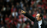 Photo: Paul Thomas.<br /> Liverpool v Chelsea. The FA Barclays Premiership. 19/08/2007.<br /> <br /> Rafael Benitez, manager of Liverpool.