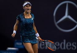 October 1, 2018 - Lesia Tsurenko of the Ukraine in action during her second-round match at the 2018 China Open WTA Premier Mandatory tennis tournament (Credit Image: © AFP7 via ZUMA Wire)