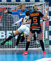 Tess Wester of Netherlands in action during the Women's EHF Euro 2020 match between Netherlands and Hungry at Sydbank Arena on december 08, 2020 in Kolding, Denmark (Photo by RHF Agency/Ronald Hoogendoorn)