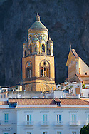 Bell tower of Amalfi Cathedral, Italy .<br /> <br /> Visit our ITALY HISTORIC PLACES PHOTO COLLECTION for more   photos of Italy to download or buy as prints https://funkystock.photoshelter.com/gallery-collection/2b-Pictures-Images-of-Italy-Photos-of-Italian-Historic-Landmark-Sites/C0000qxA2zGFjd_k .<br /> Visit our MEDIEVAL ART PHOTO COLLECTIONS for more   photos  to download or buy as prints https://funkystock.photoshelter.com/gallery-collection/Medieval-Middle-Ages-Art-Artefacts-Antiquities-Pictures-Images-of/C0000YpKXiAHnG2k