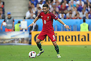Portugal Midfielder Joao Moutinho during the Euro 2016 final between Portugal and France at Stade de France, Saint-Denis, Paris, France on 10 July 2016. Photo by Phil Duncan.