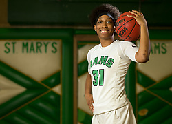 Thursday, March 22, 2018 -- Stockton, CA, U.S.A  -- Aquira DeCosta of St. Mary's in Stockton, Calif is one of our All USA TODAY girls basketball player of the year candidates. --    Photo by D. Ross Cameron USA TODAY  Sports Images, Gannett