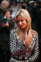 Lady Victoria Hervey at the red carpet for the gala screening of Jimmy P. Psychotherapy of a Plains Indian film at the Cannes Film Festival 18th May 2013