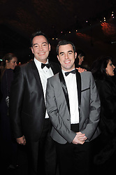 Left to right, Craig Revel Horwood and Grant Macpherson at the Collars & Coats Gala Ball celebrating 150 years of Battersea Dogs & Cats Home held at Battersea Power Station, London on 25th November 2010.