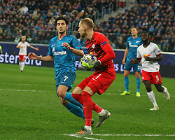 November 5, 2019, Saint-Petersburg, Russia: Russian Federation. Saint-Petersburg. Gazprom Arena. Football. UEFA Champions League. Group G. round 4. Football club Zenit - Football Club RB Leipzig. Player of Zenit football club Serdar Azmun (Credit Image: © Russian Look via ZUMA Wire)