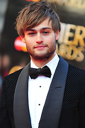 © Licensed to London News Pictures. 15/04/2012. London, England. Douglas Booth attends the 2012  Olivier Awards at The Royal Opera House in Covent Garden London on April 15th, England. Photo credit : ALAN ROXBOROUGH/LNP