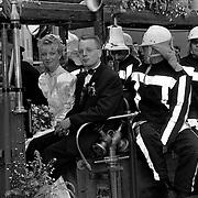Huwelijk brandweerman Huizen, gert jan Schram