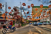 """Singapore - """"Galloping to Prosperity"""", Chinatown's Theme for Chinese New Year 2014 (Year of the Horse)"""