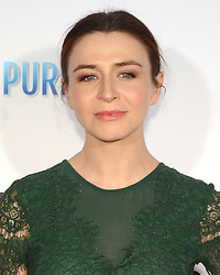 October 12, 2017 - Los Angeles, California, USA - CATERINA SCORSONE appears on the Red Carpet for the 'Same Kind Of Different As Me' Los Angeles Premiere at the Westwood Village Theatre. (Credit Image: © Billy Bennight via ZUMA Wire)