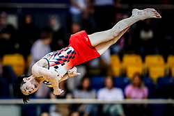 November 2, 2018 - Doha, Qatar - Kazuma Kaya of Japan   during  Floor for Men at the Aspire Dome in Doha, Qatar, Artistic FIG Gymnastics World Championships on 2 of November 2018. (Credit Image: © Ulrik Pedersen/NurPhoto via ZUMA Press)