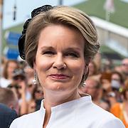 NLD/Terneuzen/20190831 - Start viering 75 jaar vrijheid, Koningin Mathilde