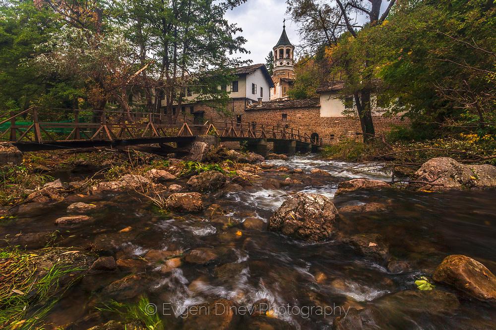 River Along Monastery