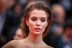 Josephine Skriver attends the screening of A Hidden Life (Une Vie Cachee) during the 72nd annual Cannes Film Festival on May 19, 2019 in Cannes, France. Photo by Shootpix/ABACAPRESS.COM