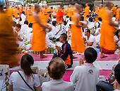 10,000 Monks At Mass Merit Making Ceremony