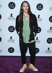 LOS ANGELES, CA, USA - JANUARY 23: Los Angeles Art Show 2019 Opening Night Gala held at the Los Angeles Convention Center on January 23, 2019 in Los Angeles, California, United States. 23 Jan 2019 Pictured: Brandon Boyd, Incubus. Photo credit: Xavier Collin/Image Press Agency / MEGA TheMegaAgency.com +1 888 505 6342