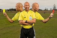 Jerome Damon, FIFA 2010 World Cup referee. Photographed in Cape Town for Oryx magazine.