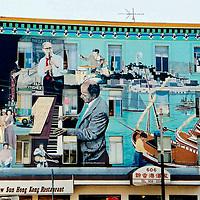 Jazz Mural, North Beach