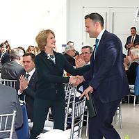 Washington - 3/14/18 - Taoiseach Leo Varadkar visit to the US Institute of Peace (white backgrounds) and AIF gala (night, formal). Credit Marty Katz/washingtonphotographer.com