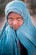 Young Amhara girl portrait from the Ethiopia highlands
