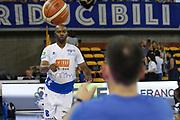Landry marcus<br /> Germani Basket Brescia - EA7 Emporio Armani Milano<br /> LegaBasket serieA 2017-2018<br /> Play Off Semifinale Gara3<br /> Brescia 28/05/2018<br /> Foto Ciamillo-Castoria \\ Vincenzo Delnegro