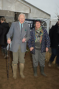 RON BROOKS; PENNY DOWNING,, The Heythrop Hunt Point to Point. Cocklebarrow. 24 January 2016