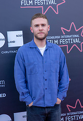 Judges photocall at Edinburgh International Film Festival<br /> <br /> Pictured: Iain De Caestecker, Actor (Michael Powell Jury)