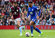 David Davis of Birmingham and Mile Jedinak of Aston Villa in action.  EFL Skybet championship match, Aston Villa v Birmingham city at Villa Park in Birmingham, The Midlands on Sunday 23rd April 2017.<br /> pic by Bradley Collyer, Andrew Orchard sports photography.