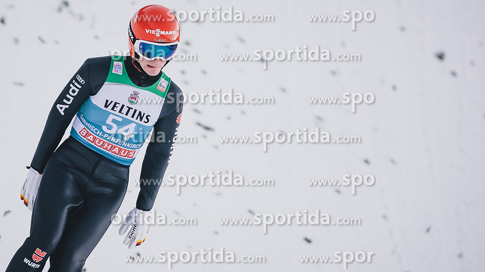 31.12.2019, Olympiaschanze, Garmisch Partenkirchen, GER, FIS Weltcup Skisprung, Vierschanzentournee, Garmisch Partenkirchen, Qualifikation, im Bild Stephan Leyhe (GER) // Stephan Leyhe of Germany during the Four Hills Tournament of FIS Ski Jumping World Cup at the Olympiaschanze in Garmisch Partenkirchen, Germany on 2019/12/31. EXPA Pictures © 2019, PhotoCredit: EXPA/ JFK