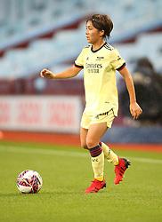 Arsenal's Mana Iwabuchi during the FA Women's Super League match at Villa Park, Birmingham. Picture date: Saturday October 2, 2021.