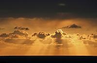 South coast cloudscape
