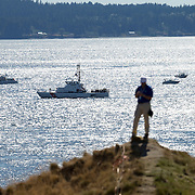 Behind the scenes look at the 2015 US Open of golf at Chambers Bay in Washington.