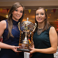 Miltown Malbay Football Joint Captains Siobhan Talty and Katie Curtin