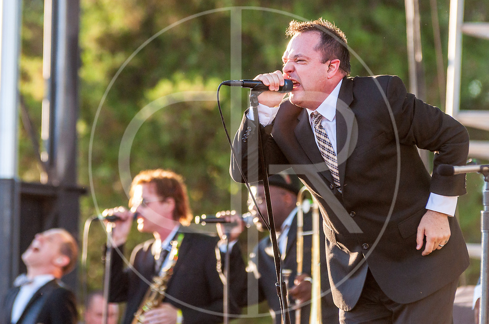 BALTIMORE United States - September 14, 2013: The Mighty Mighty Bosstones perform at The Shindig, in Baltimore's historic Carroll Park