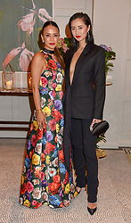 Left to right, Vicky Lee and Betty Bachz at the Belmond Cadogan Hotel Grand Opening, Sloane Street, London England. 16 May 2019. <br /> <br /> ***For fees please contact us prior to publication***