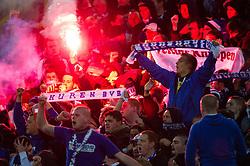 26.11.2011, Signal Iduna Park, Dortmund, GER, 1. FBL, Borussia Dortmund vs FC Schalke 04, im Bild Fans Schalke // during Borussia Dortmund vs. FC Schalke 04 at Signal Iduna Park, Dortmund, GER, 2011-11-26. EXPA Pictures © 2011, PhotoCredit: EXPA/ nph/ Kurth..***** ATTENTION - OUT OF GER, CRO *****