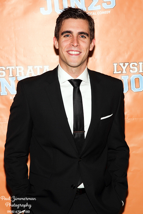 """NEW YORK, NY - DECEMBER 14:  Josh Segarra attends the """"Lysistrata Jones"""" Broadway opening night after party at the New Liberty Theatre on December 14, 2011 in New York City.  (Photo by Paul Zimmerman/WireImage)"""