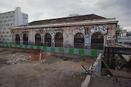 France. Paris 13th district., Gare Massena .  former railway line around Paris,  /  la petite ceinture ferroviaire de Paris.