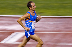 Roman Kejzar during men 5000 m at Slovenian National Championships in athletics 2010, on July 17, 2010 in Velenje, Slovenia. (Photo by Vid Ponikvar / Sportida)