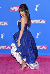 "Winnie Harlow at the 2018 MTV ""VMAs'"" held at Radio City Music Hall on August 20, 2018 in New York City, NY © OConnor / AFF-USA.com. 20 Aug 2018 Pictured: Camila Cabello. Photo credit: MEGA TheMegaAgency.com +1 888 505 6342"