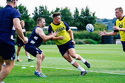 Tom Lindsay in action during week 1 of Bristol Bears pre-season training ahead of the 19/20 Gallagher Premiership season - Rogan/JMP - 03/07/2019 - RUGBY UNION - Clifton Rugby Club - Bristol, England.