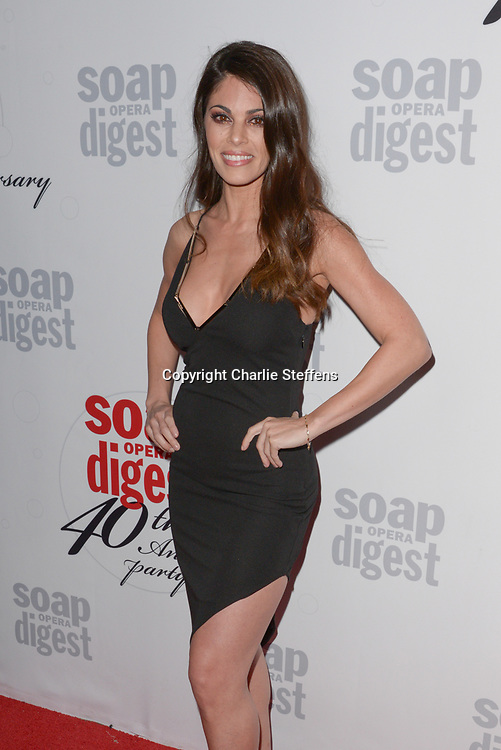 LINDSAY HARTLEY at Soap Opera Digest's 40th Anniversary party at The Argyle Hollywood in Los Angeles, California