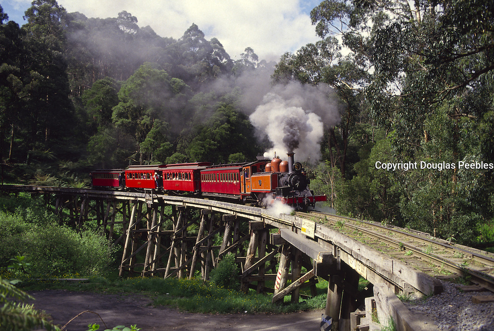 Puffing Billy Train, Mt. Dandenong, Australia<br />
