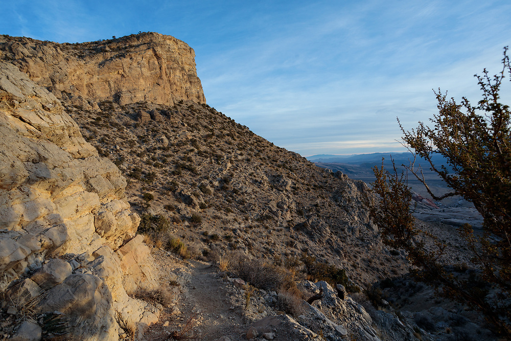 Views from the trail on Turtlehead Peak, Red Rock Canyon, Las Vegas