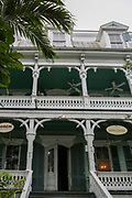 The Dr. Joseph Y. Porter House is a historic home in Key West, Florida. It is located at 429 Caroline Street. The original construction was built in 1838 by Judge James Webb. The house is best known as the lifelong home of Dr. Joseph Yates Porter Jr. His father bought the property in 1845. Porter lived in the home for 80 years, dying in the same room he was born.[4] He was Key West's first native-born physician and Florida's first Public Health Officer from 1889–1917. He was instrumental in controlling yellow fever, reforming sanitation and quarantine practices, and initiating health legislation. Porter was among the first physicians to recognize yellow fever as transmissible by mosquitoes.
